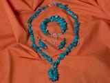 Set bijuterii din turcoaz